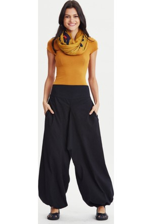 Los Banditos Kadın Siyah Yoga Pantolon P255