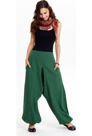 Los Banditos Kadın Yeşil Yoga Pantolon P255