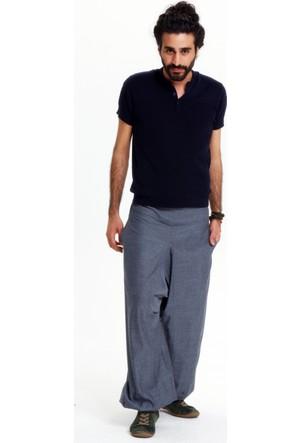 Los Banditos Erkek Gri Yoga Pantolon P2550