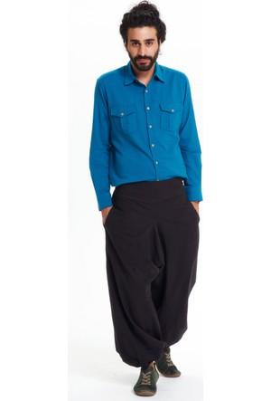 Los Banditos Erkek Siyah Yoga Pantolon P2550