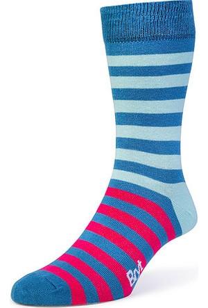 Bryt Çorap Mavi Çizgili