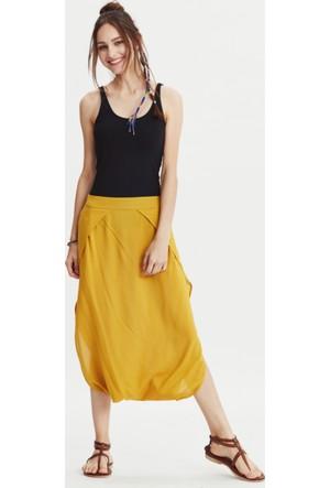 Los Banditos Kadın Sarı Kelebek Pantolon P09