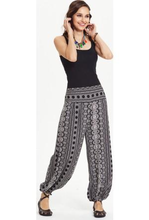 Los Banditos Kadın Siyah Cunda Pantolon P33