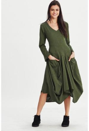 Los Banditos Kadın Yeşil Karmina Elbise Ee22
