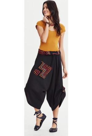 Los Banditos Kadın Siyah Linda Pantolon P80