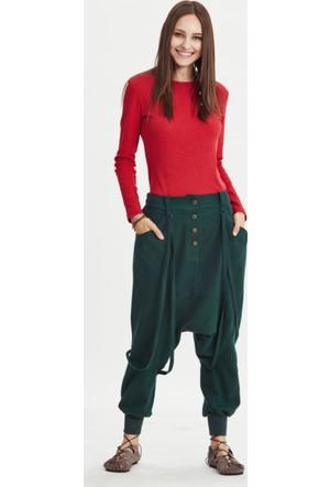 Los Banditos Kadın Yeşil Silvia Pantolon P82