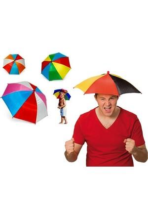 Toptancı Kapında Kafa Şemsiyesi