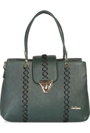 Esta Rubon 44413 Kadın El Çantası Yeşil