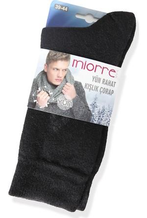 Miorre Yün Mini Ekoseli Erkek Çorabı 1029028