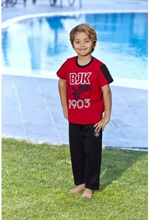 Roly Poly Beşiktaş Lisanslı Erkek Çocuk Pijama Takımı
