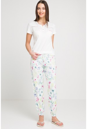 Pierre Cardin Lisanslı Büyük Beden Kadın Pijama Takımı