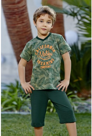 Roly Poly Süprem Genç Erkek Bermuda Takım