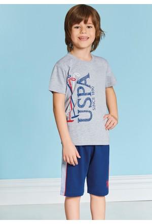 U.S. Polo Assn. Erkek Çocuk Bermuda Pijama Takımı