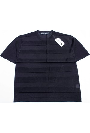 Soft Style Erkek Bisiklet Yaka Tshirt 1206
