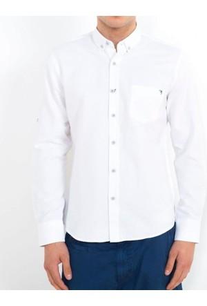 Cazador Erkek Gömlek Beyaz 2617