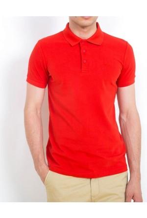 Cazador Polo Yaka T-Shirt Slim Fit Kırmızı 4613