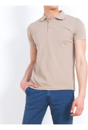 Cazador Polo Yaka T-Shirt Slim Fit Safari 4613