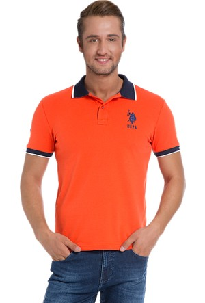 U.S. Polo Assn. Erkek Sd01İy6 T-Shirt Kırmızı