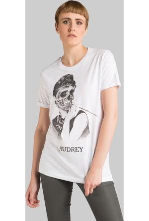 Happiness Audrey Skull T-Shirt16045