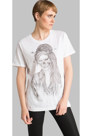 Happiness Amy Skull T-Shirt16048