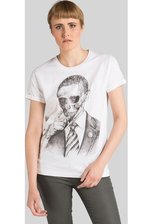 Happiness Obama Skull T-Shirt16051