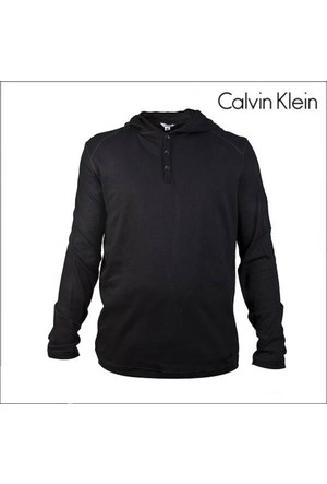 Calvin Klein 405K240010 Kapüşonlu Sweatshirt Siyah