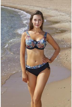 Pierre Cardin Önü Sürgülü Toparlayıcı Bikini