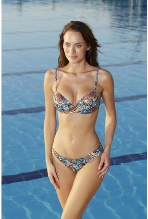 Pierre Cardin Dönen Dolgulu Bikini