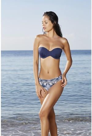 Pierre Cardin Straplez Kaplı Bikini