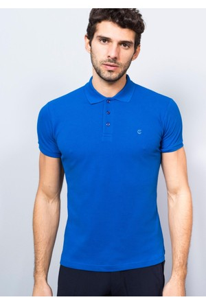 Adze Polo Yaka Pike T-Shirt