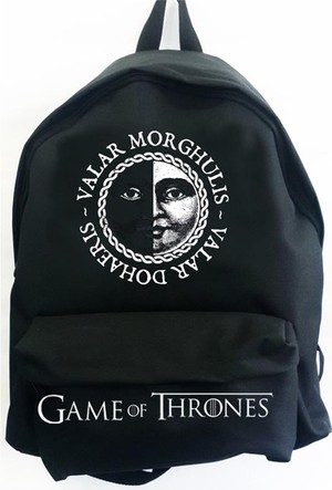 Köstebek Game Of Thrones - Valar Morghulis Sırt Çantası