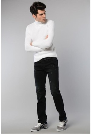 Rodin Hills Gok Mavi 314 Erkek Kot Pantolon Kemerli 805