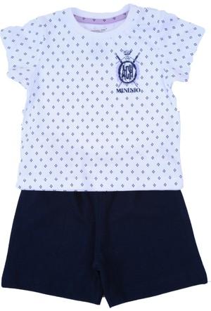 Zeyland Erkek Çocuk Lacivert T-shirt + Şort Takım - 71M1MB1505