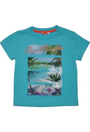 Zeyland Erkek Çocuk Turkuaz T-shirt - 71Z1SHF54