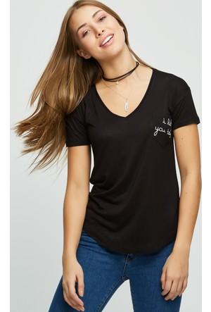 FullaModa Baskılı T-Shirt 17Y17SPR0004338