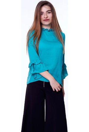 Bsl Fashion Nbt Renna Bluz 9184 14