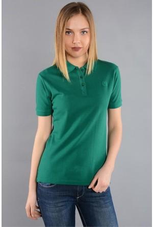 Rodin Hills Koyu Yeşil Kadın Polo Yaka T-Shirt
