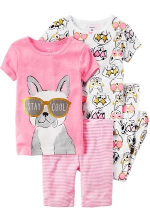 Carter's Kız Çocuk 4Lü Pijama 371G122