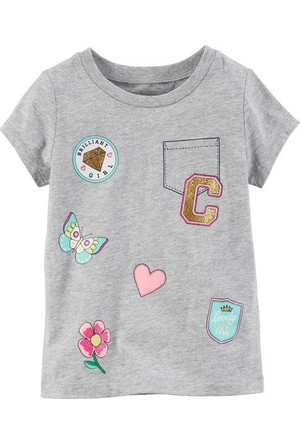 Carter's Kız Bebek Tshirt 235G774