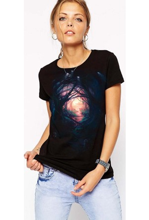 The Chalcedon In The Forest Bayan Tshirt