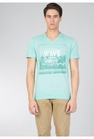 Colin's Yeşil Erkek T-Shirt Kısa Kol Yeşil
