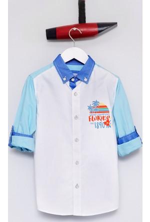 U.S. Polo Assn. Erenkids Erkek Çocuk Dokuma Gömlek