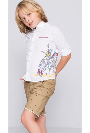 U.S. Polo Assn. Abilene Erkek Çocuk Dokuma Gömlek