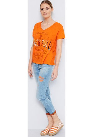 U.S. Polo Assn. Ceyline-T Kadın Denim Pantolon