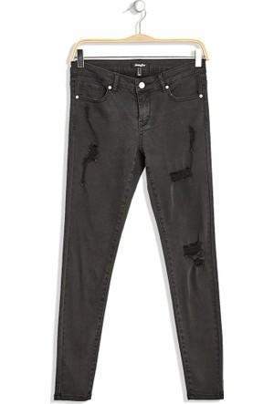 Hogg Yırtık Detaylı Pantolon