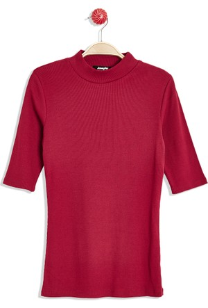 Hogg Kısa Kollu Balıkçı Yaka T-Shirt
