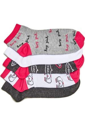 Hogg 5'li Patik Çorap Seti