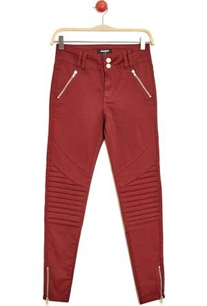 Hogg Fermuar Detaylı Pantolon