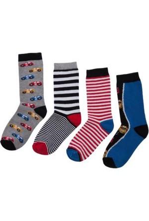 Fullakids Erkek 9-10 Yaş Çocuk Çorabı