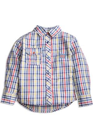 Hogg Kareli Kol Detaylı Gömlek